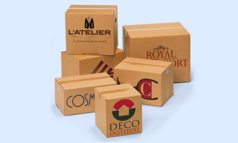 Custom made and custom printed boxes